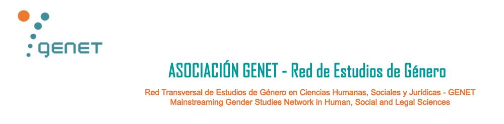 Asociación GENET – Red Transversal de Estudios de Género